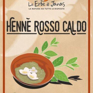 HENNÈ ROSSO CALDO LE ERBE DI JANAS