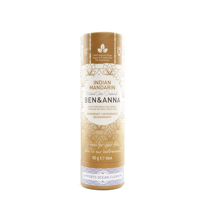 DEODORANTE STICK INDIAN MANDARINE BEN & ANNA
