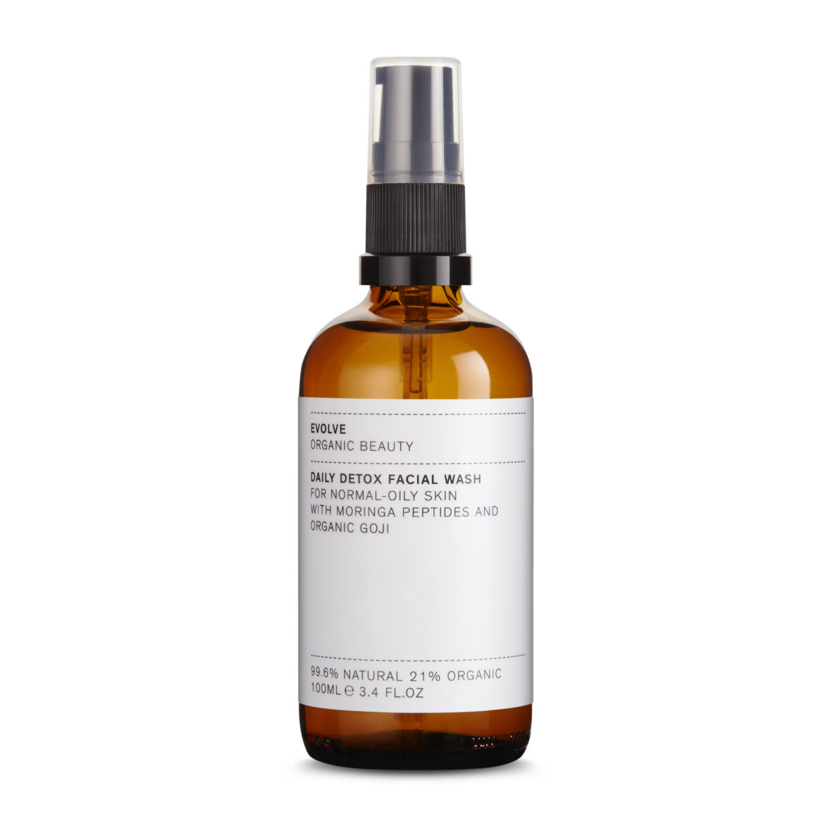 DAILY DETOX FACIAL WASH EVOLVE ORGANIC BEAUTY
